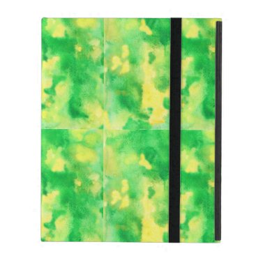 Yellow Green iPad 2/3/4 Case with No Kickstand
