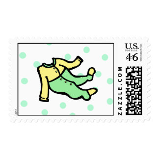 Yellow Green PJs Postage