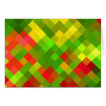 Yellow Green Red Patterns Geometric Designs Color