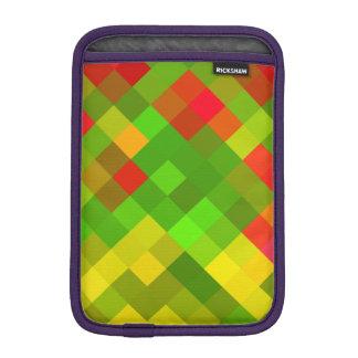 Yellow Green Red Patterns Geometric Designs Color iPad Mini Sleeve