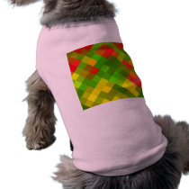 Yellow Green Red Patterns Geometric Designs Color Shirt