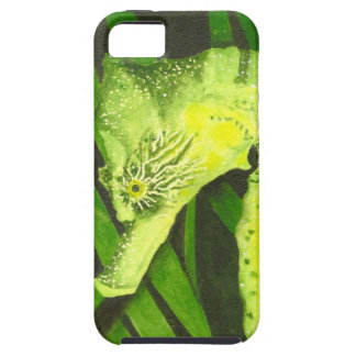 Yellow & Green Seahorse iPhone Case