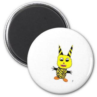 Yellow Gremlin Magnet