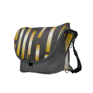 Yellow/Grey Combo Messenger Bag