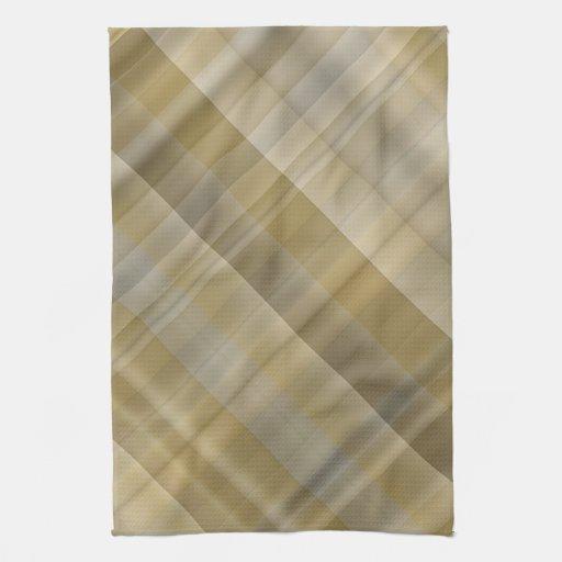 yellow grey plaid towels zazzle. Black Bedroom Furniture Sets. Home Design Ideas