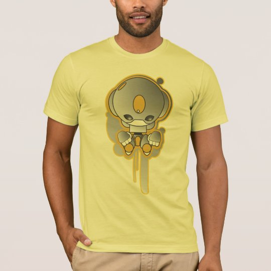 Yellow & Grey Vector by Ian Diedericks T-Shirt