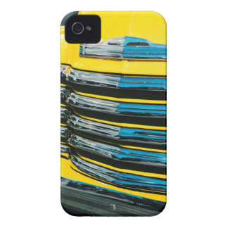 Yellow Grill iPhone 4 Cover