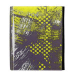 Yellow Grunge Abstract iPad Cases
