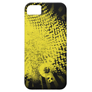 yellow grunge iPhone SE/5/5s case