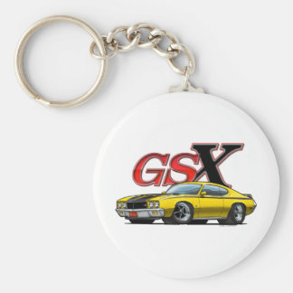 Yellow_GSX Keychain