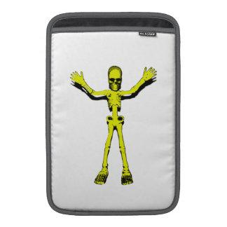 Yellow Halloween Skeleton Sleeve For MacBook Air