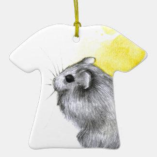 Yellow Hamster Ceramic T-Shirt Decoration