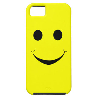 Yellow Happy Face Case - Happy Face iPhone 5 Case