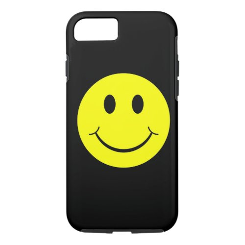 Yellow Happy Face iPhone 7 case Phone Case