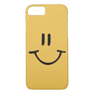 Yellow Happy Face iPhone 8/7 Case