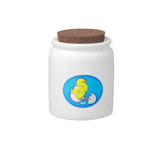 yellow hatching chicks blue oval.png candy dish