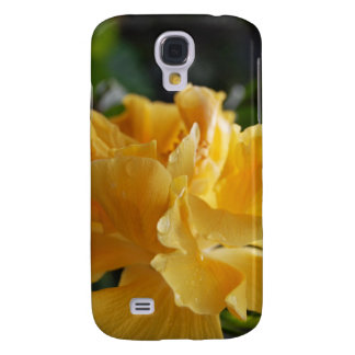 Yellow Hawaii Hibiscus (w/ a little dew) Galaxy S4 Case
