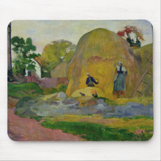 Yellow Haystacks, or Golden Harvest, 1889 Mouse Pad