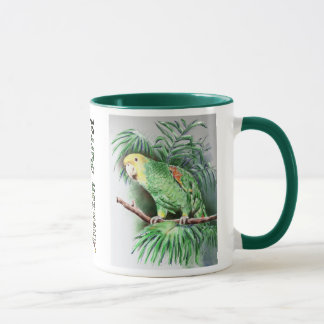 Yellow-Headed Amazon Parrot Mug