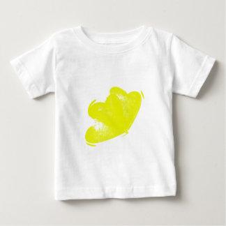 Yellow Hearts Baby T-Shirt
