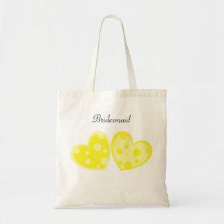 Yellow Hearts Bag
