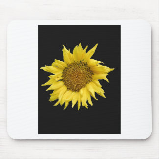 Yellow Helianthus Mouse Pad