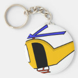 Yellow Helicopter Keychains