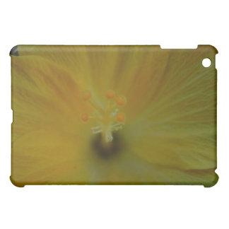 Yellow Hibiscus Case For The iPad Mini