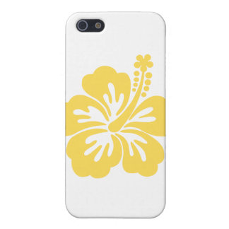 yellow hibiscus flower 11 iPhone SE/5/5s case