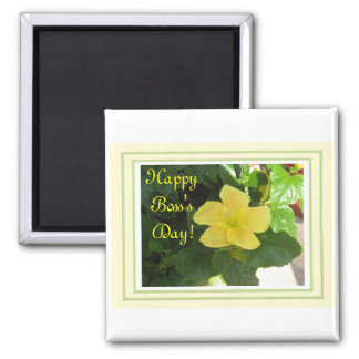 Yellow Hibiscus for the Boss Frig Magnet!