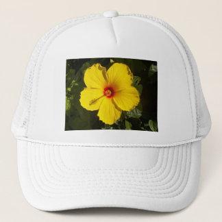 Yellow Hibiscus Hat