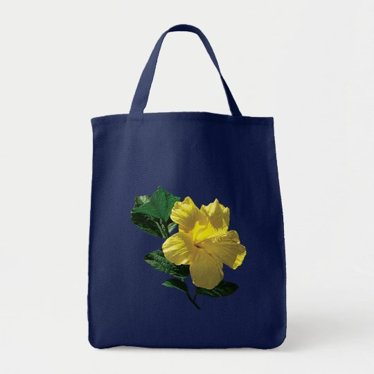 Yellow Hibiscus in Sunshine Tote Bag
