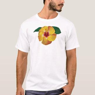 Yellow Hibiscus Mens T-Shirt