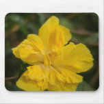 Yellow Hibiscus Mouse Pad