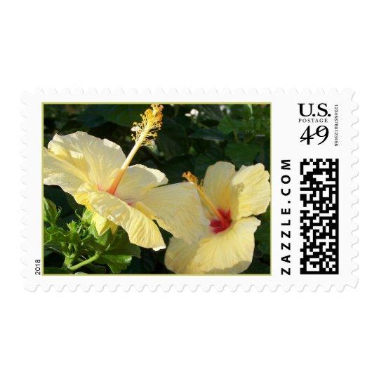 Yellow Hibiscus Postage