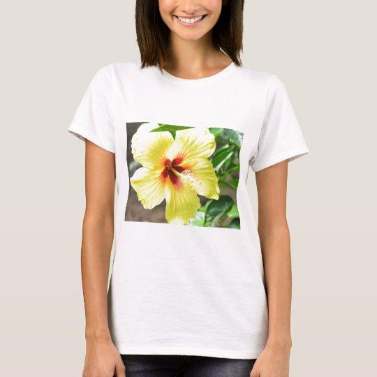 Yellow Hibiscus T-Shirt