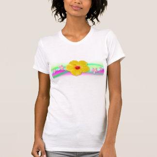 Yellow Hibiscus Shirt