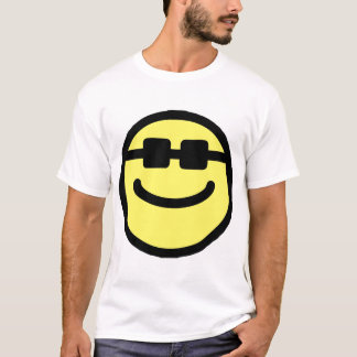 Yellow Hip Black Shades Smiley Face T-Shirt