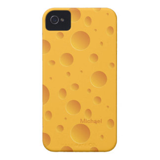 Yellow Holes Cheese iPhone 4 Case