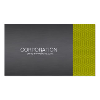 Yellow honey comb elite business card