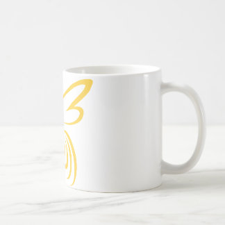 Yellow Hornet Logo Coffee Mug