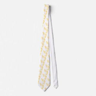 Yellow Hornet Logo Neck Tie