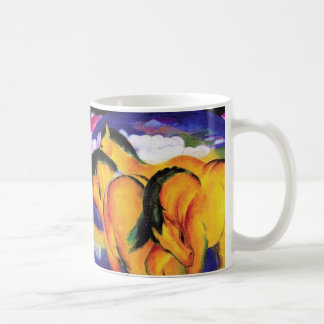 """Yellow Horses"" Coffee Mug"