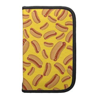 Yellow hotdogs planner