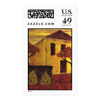 Yellow House Stamps