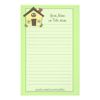 Yellow House Stationery