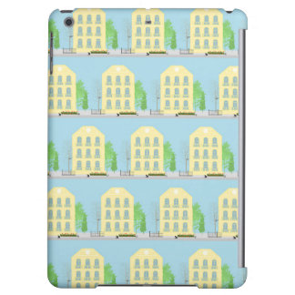 Yellow houses iPad air covers