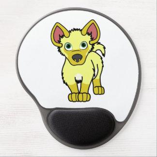 Yellow Hyena Cub Gel Mouse Pad