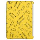 Yellow I love gymnastics Case For iPad Air