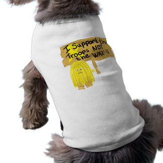 Yellow I Support Doggie Tee